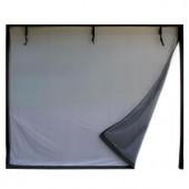 Fresh Air Screens 9 ft. x 8 ft. 2-Zipper Garage Door Screen