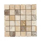 Jeffrey Court Toscano Mosaic 12 in. x 12 in. Travertine Wall / Floor Tile