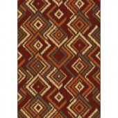 Shaw Living Carson Multi 7 ft. 10 in. x 10 ft. 10 in. Area Rug