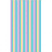 LA Rug Inc. Fun Time Pastel Delicate Multi Colored 19 in. x 29 in. Area Rug
