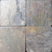MS International 6 in. x 6 in. Tumbled Multi Color Slate Floor and Wall Tile (1 sq. ft./case)