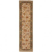 Artistic Weavers Diamanti Beige 2 ft. 6 in. x 10 ft. Runner