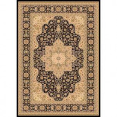 Home Dynamix Majestic Black 5 ft. 2 in. x 7 ft. 6 in. Area Rug