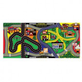 My Town Multi-Colored 3 ft. x 5 ft. Play Mat