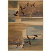 Rizzy Home Bellevue Collection Beige 1 ft. 8 in. x 2 ft. 6 in. Area Rug