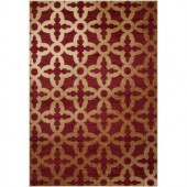 Artistic Weavers Calnevair Red 7 ft. 9 in. x 10 ft. 8 in. Area Rug